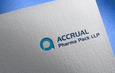 Accrual Pharma Pack LLP Pharmaceuticals Logo Design Mumbai India