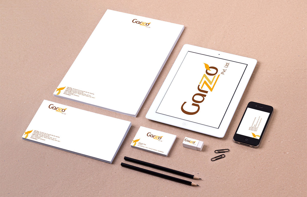 Garzzo Pvt. Ltd. Food Stationery Designing Mumbai India
