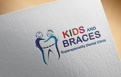 Kids & Braces Dental Clinic Logo Design Mumbai India