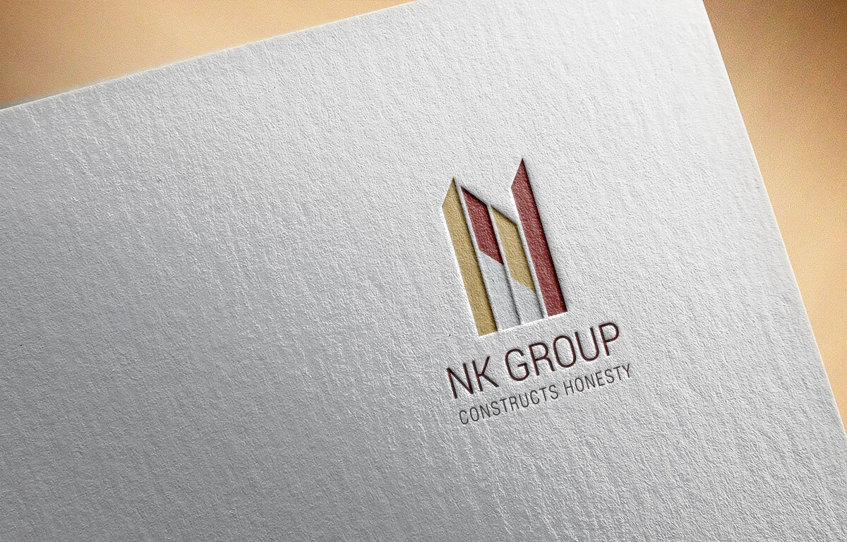 NK Group Builders Logo Design Mumbai India