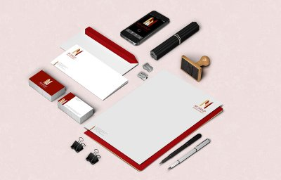 NK Group Builders Stationery Design Mumbai India