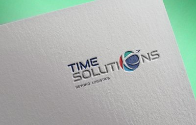 Time Solutions Logistics Logo Design Mumbai India