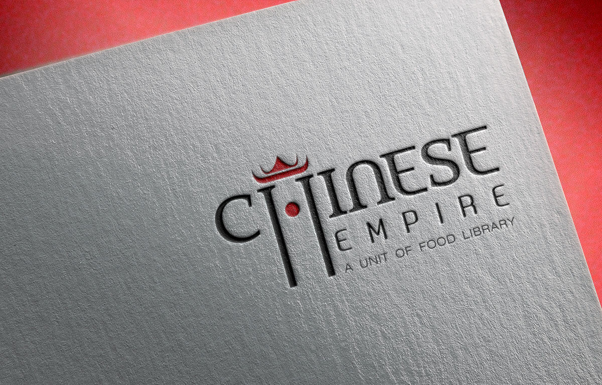 Chinese Empire Food Logo Design Mumbai India