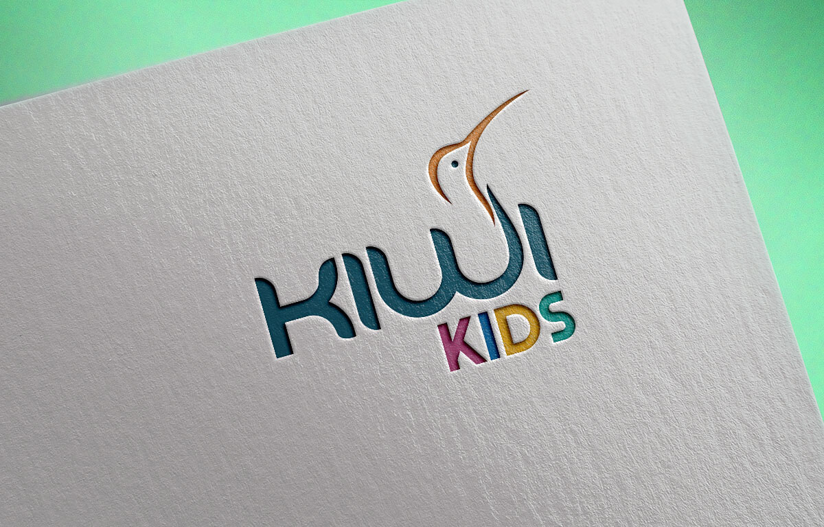 Kiwi Kids Nursery Logo Design Mumbai India