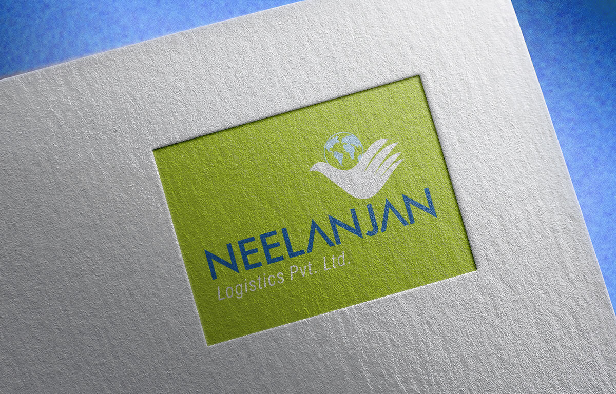 Neelanjan Logistics Logo Design Mumbai India