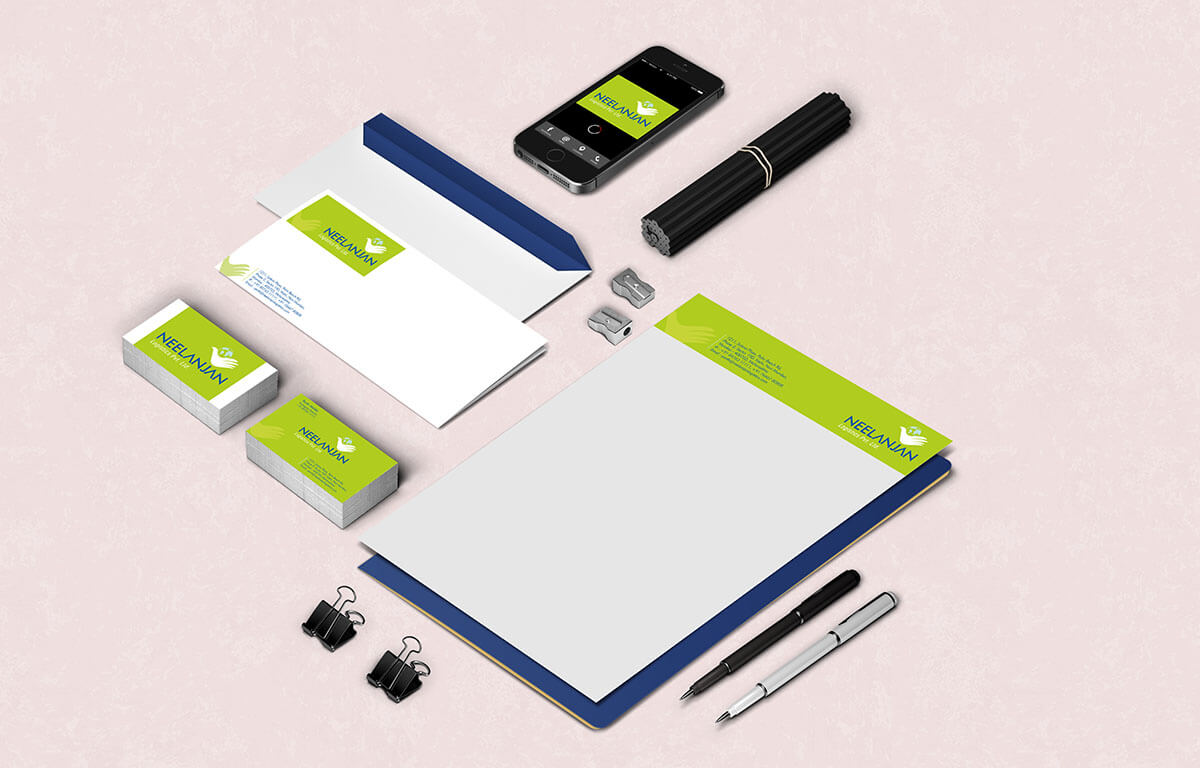 Neelanjan Logistics Stationery Design Mumbai India